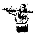 Graffiti stencil silhouette of a woman with a