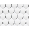 White 3d abstract seamless texture vector image vector image