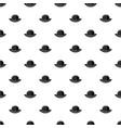 black hat pattern vector image