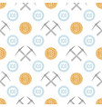 crypto currency blockchain seamless pattern vector image vector image
