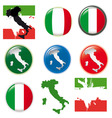 Italian symbols vector | Price: 1 Credit (USD $1)