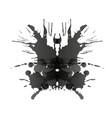rorschach test card vector image
