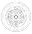 sketch clutch basket for car vector image