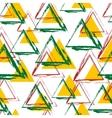 tribal inspired seamless geometric pattern vector image