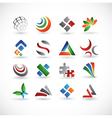 various design elements vector image