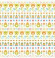 seamless baby pattern vector image
