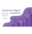 digital entertainment flight drone vector image