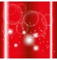 Dots light Abstract red Background vector image vector image