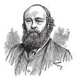marquis of salisbury robert cecil vintage vector image vector image