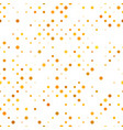repeating circle pattern background vector image vector image