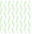 seamless pattern composed of leaves and branches vector image vector image