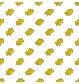 yellow cinema tickets seamless pattern vector image vector image