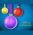 christmas background concept vector image