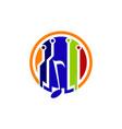 Digital music logo design template