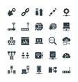 Networking Cool Icons 3 vector image