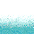 turquoise abstract pixel background vector image