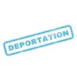 Deportation Rubber Stamp vector image vector image
