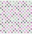 seamless pattern with swirls on white background vector image vector image