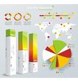 set elements infographics vector image vector image