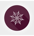 Spiderweb vector image
