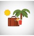 Vacations icon design vector image vector image