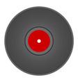 vintage vinyl disc vector image