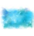 aqua marine blue watercolor splash background vector image