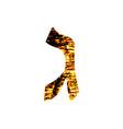 hebrew letter gimel shabby gold font the hebrew vector image vector image