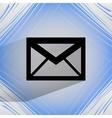 mail envelope Flat modern web design on a flat vector image