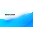 modern colorful fluid creative templates with vector image vector image
