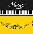 music lifestyle vector image