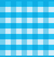 blue gingham tablecloth seamless background vector image