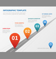 company timeline infographic milestone vector image vector image
