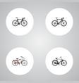 realistic training vehicle exercise riding vector image