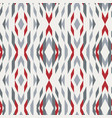 seamless kilim geo design motif tile vector image