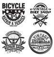set of vintge emblem design vector image vector image