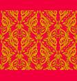 victorian ornate wallpaper vector image vector image
