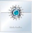 beautiful rakhi background vector image vector image