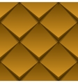 Brown tile seamless texture vector image vector image
