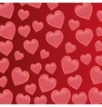 cartoon heart love image vector image