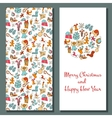 Christmas card Cozy Xmas greetings vector image