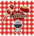 delicious barbacue design vector image