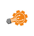gear business logo design template icon vector image
