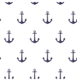 Pattern with anchors vector image vector image