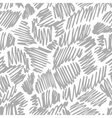 Seamless pattern with hand drawn pen or pencil vector image