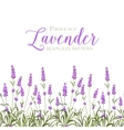 wreath lavender flowers vector image vector image