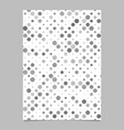Abstract repeating dot pattern brochure background