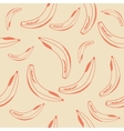 Banana Seamless Background vector image