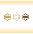 Geometric shapes or mandala decorative vector image