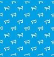 loudspeaker pattern seamless blue vector image vector image